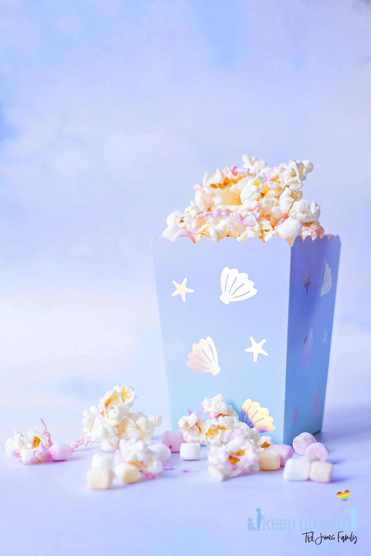 Shimmery Mermaid Popcorn